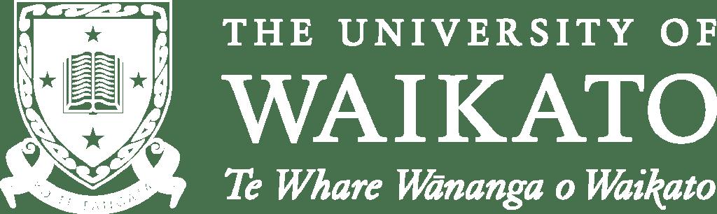 University of Waikato Logo White