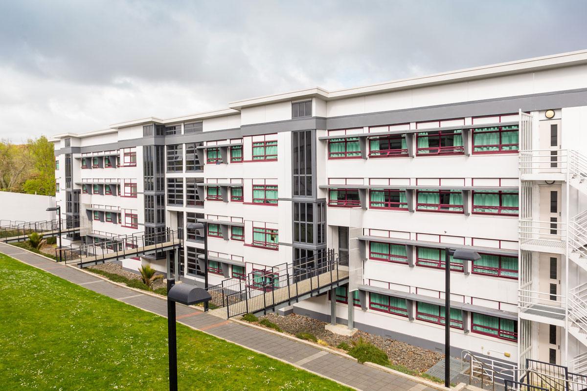 College Hall in Hamilton